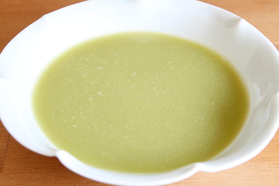 あさりと青ネギのスープ