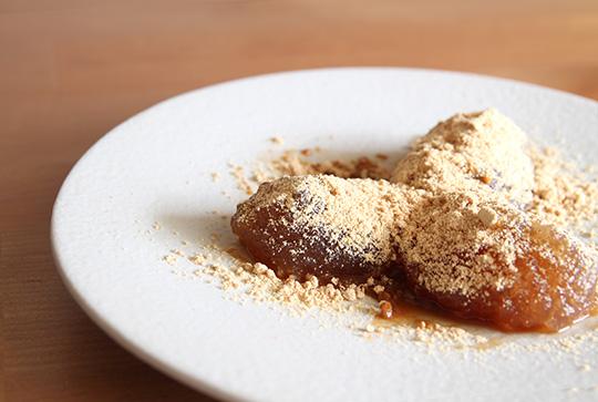 梅シロップのわらび餅